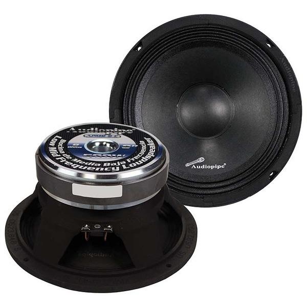 "Audiopipe 8"" Midbass(Sold each) 500W 8Ohm Cast Basket"