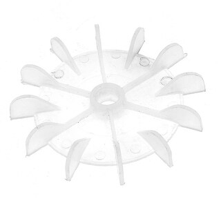 Unique Bargains Spare Part 12 Vanes Impeller Motor Fan Blade Outer Max Diameter 99mm