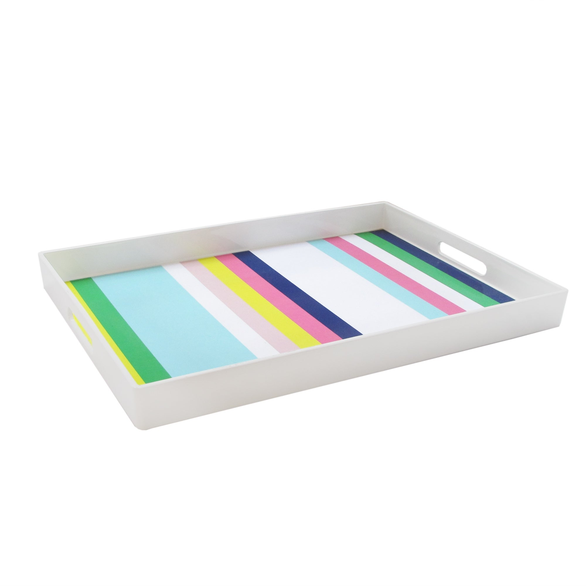 Trina Turk Stripes Rect Tray Overstock 30900531
