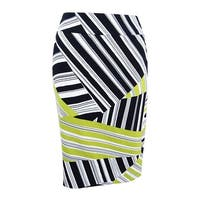 Nine West Women's Plus Size Printed Pencil Skirt - Shell Multi
