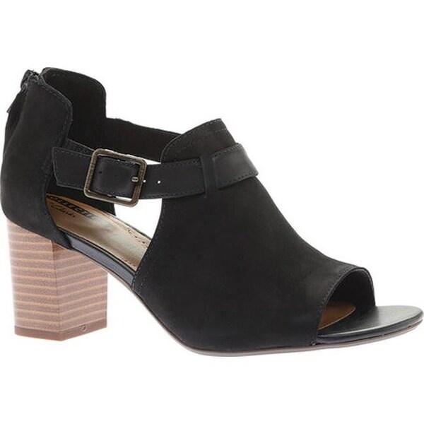 962fb891af09 Shop Clarks Women s Deva Valeria Sandal Black Nubuck - Free Shipping ...