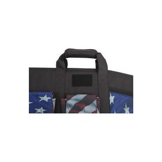 "Victory Gun Case Tactical Rifle Lockable 42"" Red White Blue"