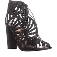 Jessica Simpson Emagine Lace Up Sandals, Black - 7 us / 37 eu