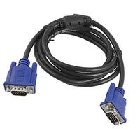 Unique Bargains 1.7M VGA HD15 Male to Male Cable Cord for Computer LCD
