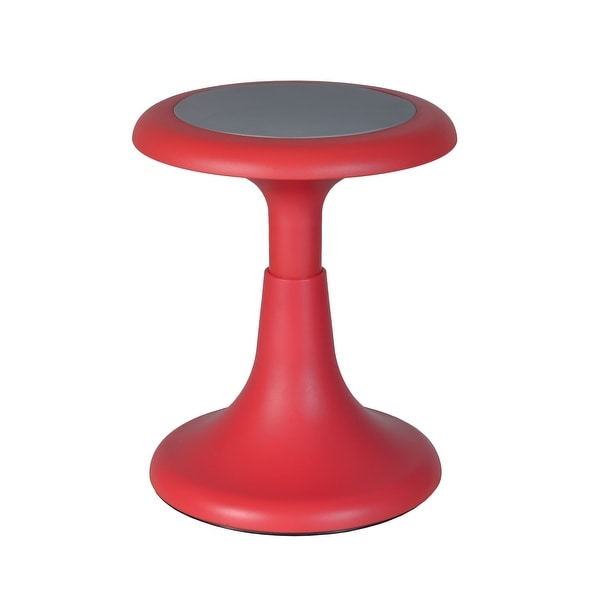 "Gain 15"" Wobble Stool, Red. Opens flyout."