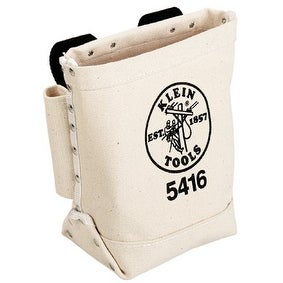 Klein Tools 409-5416 Bolt and Bull Pin Bag with Canvas Loop Connect