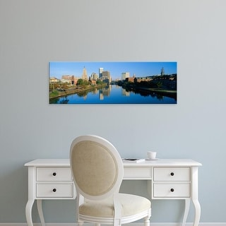 Easy Art Prints Panoramic Images's 'Providence, Rhode Island' Premium Canvas Art