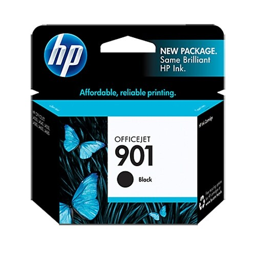 HP 901 Black Original Ink Cartridge (Single Pack) HP 901 Black Ink Cartridge - Black - Inkjet - 200 Page