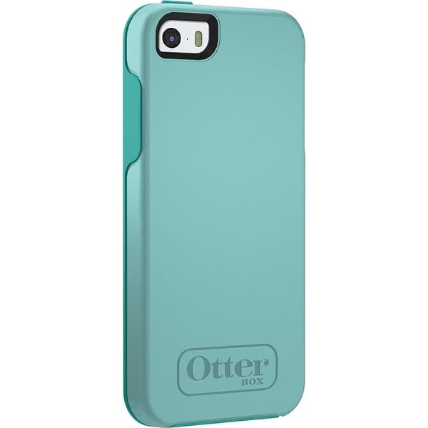 save off 47c32 f5aaf Shop OtterBox Symmetry Case for Apple iPhone 5/5s/SE - Aqua Sky ...