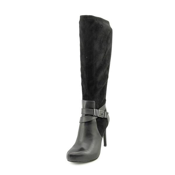 Bar III Womens Carlina Almond Toe Knee High Fashion Boots