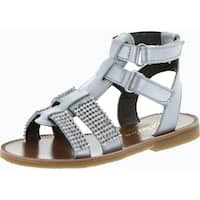 Naturino Girls 2384 Fashion Gladiator Sandals - argento