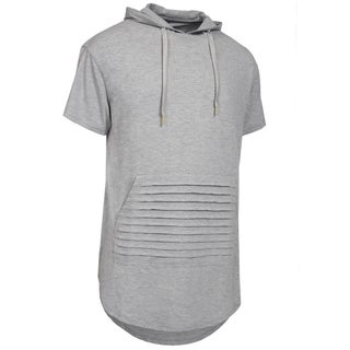 NE PEOPLE Mens Hipster Hip Hop T-shirts with Side Zippers [NEMT92] (More options available)