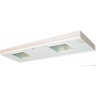 Volume Lighting V6002 2-Light Xenon Under Cabinet Light - White