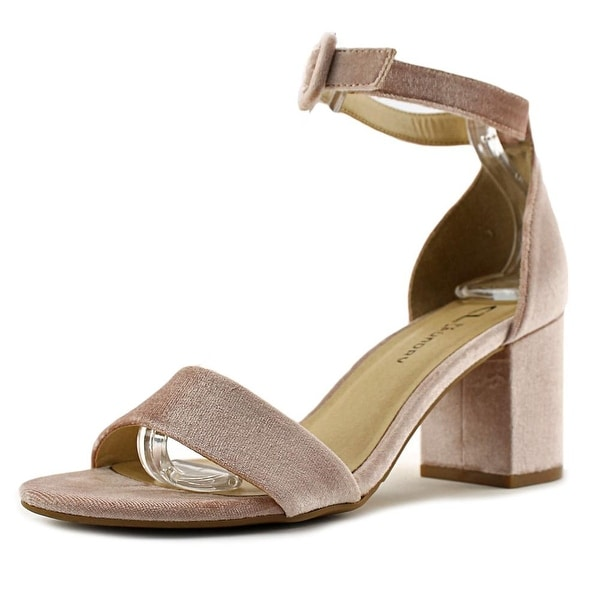 CL By Laundry Jody Women Open Toe Canvas Sandals