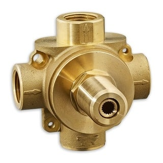 American Standard R433S 3-Way Diverter Rough In Valve with Shared Function