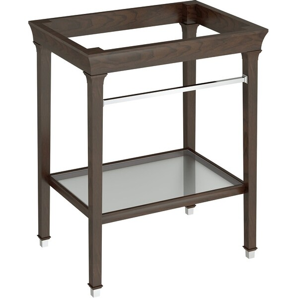 American Standard 9056.030 Town Square S Metal Lavatory Console Legs with Bottom Shelf