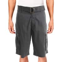 Levi Strauss & Co. Mens Cargo Shorts Casual Flat Front