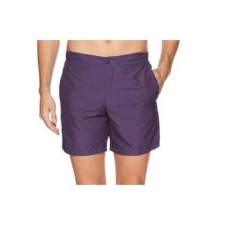 Ben Sherman Red Purple Mens Size Small S Geo-Print Board Shorts