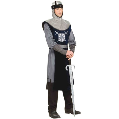 Forum Novelties Knight of the Round Table Adult Costume - Black/Silver