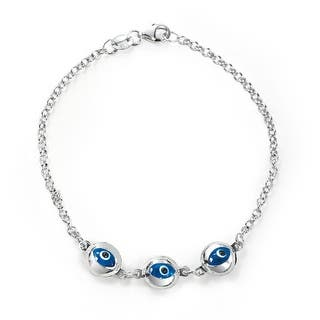 Bling Jewelry 925 Sterling Silver Translucent Blue Evil Eye Bracelet|https://ak1.ostkcdn.com/images/products/is/images/direct/f02da30524335c8399699dd48be1a0aca0bbb824/Bling-Jewelry-925-Sterling-Silver-Translucent-Blue-Evil-Eye-Bracelet.jpg?impolicy=medium
