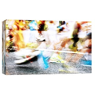 """PTM Images 9-103669  PTM Canvas Collection 8"""" x 10"""" - """"Runners A"""" Giclee Sports and Hobbies Art Print on Canvas"""