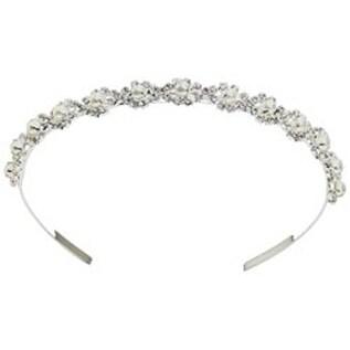Silver - Tiara Headband