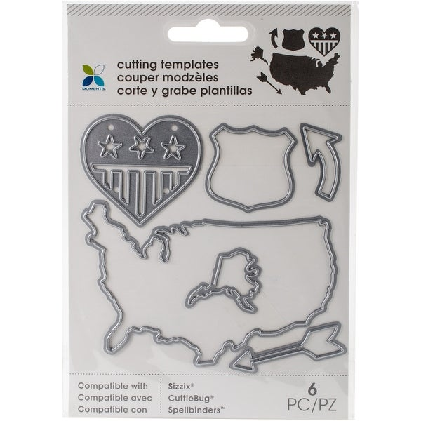 shop momenta die cutting templates arrow map 6pcs free shipping on