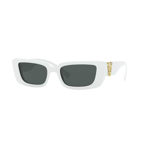 Versase VE4382 532787 52 White Woman Irregular Sunglasses