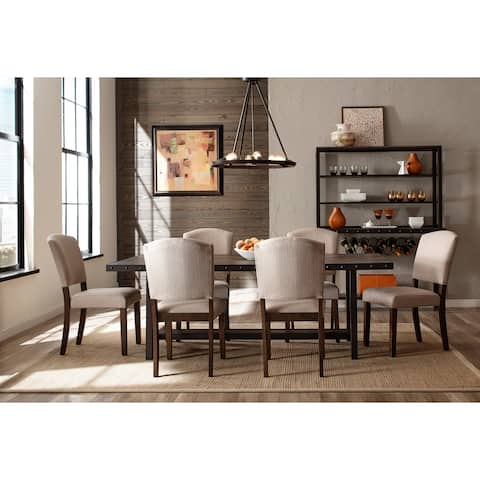 Carbon Loft Roxie Distressed Walnut 7-piece Dining Set