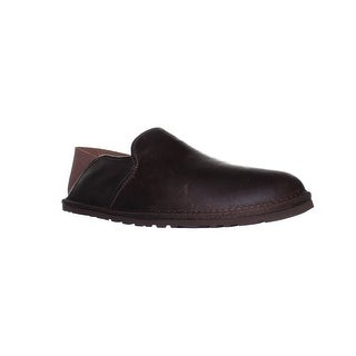 UGG Mens M Cooke Grizzly Mule Slippers Size 9