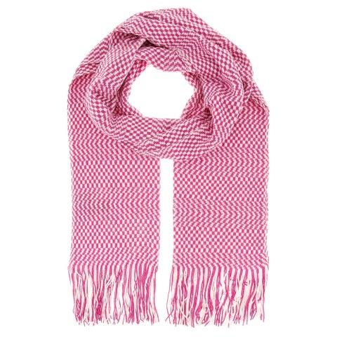 Missoni D4904 Wool Blend Crochet Knit Scarf