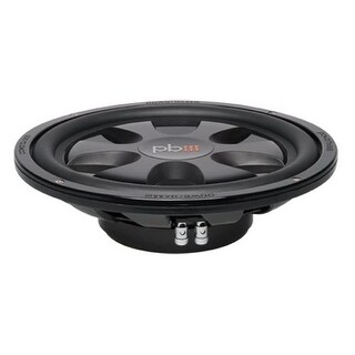 PowerBass S12T 12 in. Single 4 Ohm Thin Subwoofer