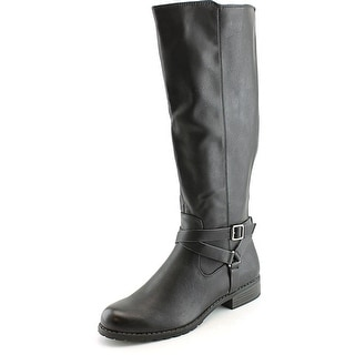 Style & Co Brigyte Wide Calf W Round Toe Synthetic Knee High Boot