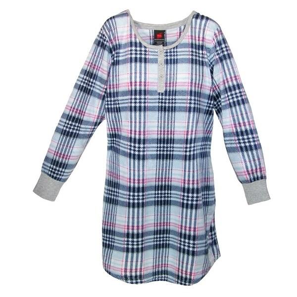 Hanes Women's Plush Print Sleepshirt Nightgown