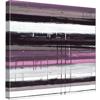 """PTM Images 9-98812  PTM Canvas Collection 12"""" x 12"""" - """"Blinds G"""" Giclee Abstract Art Print on Canvas"""
