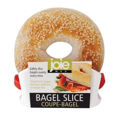 Joie Bagel Slicer Knife Guard Stand - Safely Slice Bagels Evenly Every Time