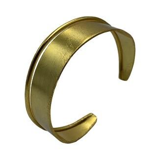 ff4df7d9db10e Shop Pori Men's 14k Gold Cuban Chain Bracelet - On Sale - Free ...