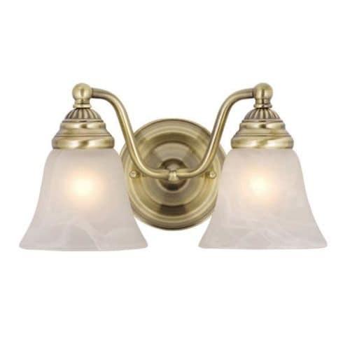 Vaxcel Lighting VL35122 Standford 2 Light Bathroom Vanity Light - 10.38 Inches Wide