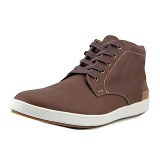 Steve Madden Freedomm    Leather  Fashion Sneakers