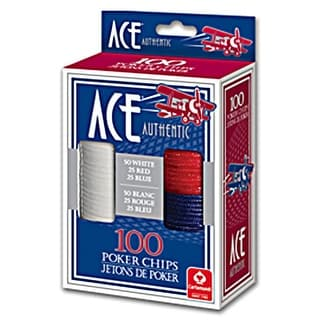 Ace Authentic Poker Chips