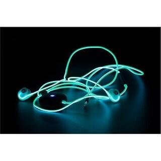 Spark Headphones 051497027339 Smart Glow Headphones - Green