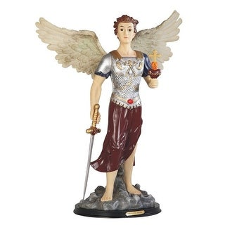 Q Max 24 H Archangel Jehudiel Statue Saint Jegudiel The Angel Of Work Holy Figurine Religious Decoration On Sale Overstock 32433432