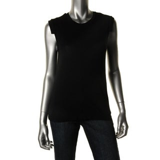 Fluxus Womens Cotton Sleeveless Casual Top - S
