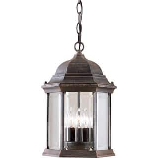 Antique outdoor lighting for less overstock forte lighting 1711 03 outdoor pendant from the exterior lighting collection aloadofball Images