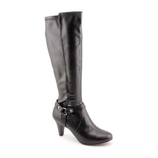 Karen Scott Henson Women  Round Toe Synthetic  Knee High Boot