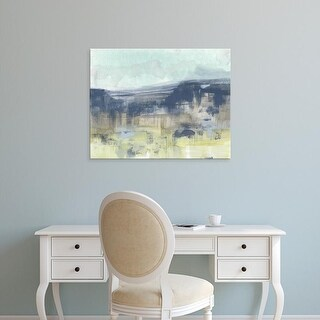 Easy Art Prints Jennifer Goldberger's 'Blueberry Hills I' Premium Canvas Art