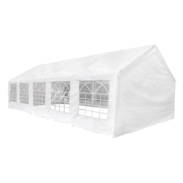 vidaXL Party Tent 32' x 16' White