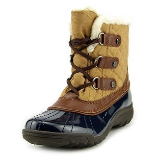 Anne Klein Sport Gailla   Round Toe Canvas  Snow Boot