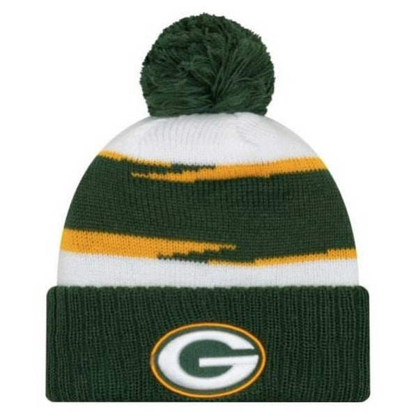 best cheap ae7d5 feb0b New Era 2018 NFL Green Bay Packers Thanksgiving Stocking Knit Hat Beanie  Winter