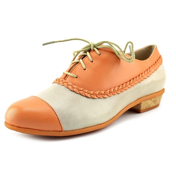Wolverine Maisie Women  Cap Toe Leather Orange Oxford